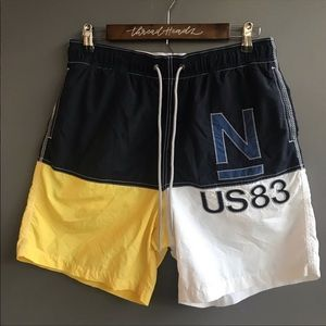 Vintage Nautica Swim Trunks